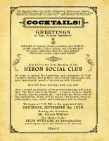 Cocktail Club Flyer